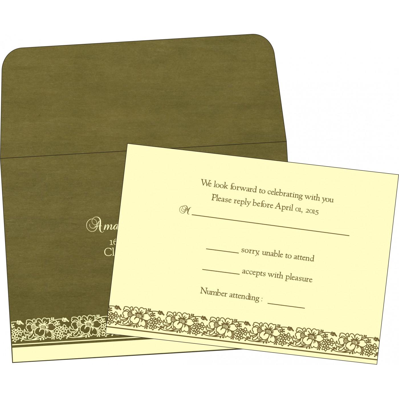 RSVP Cards : RSVP-8207H - 123WeddingCards
