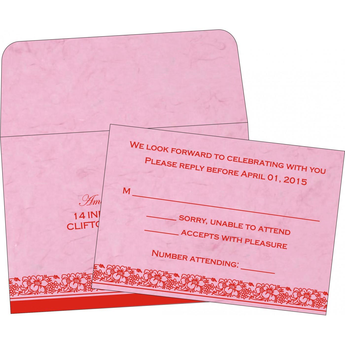 RSVP Cards : RSVP-8207K - 123WeddingCards