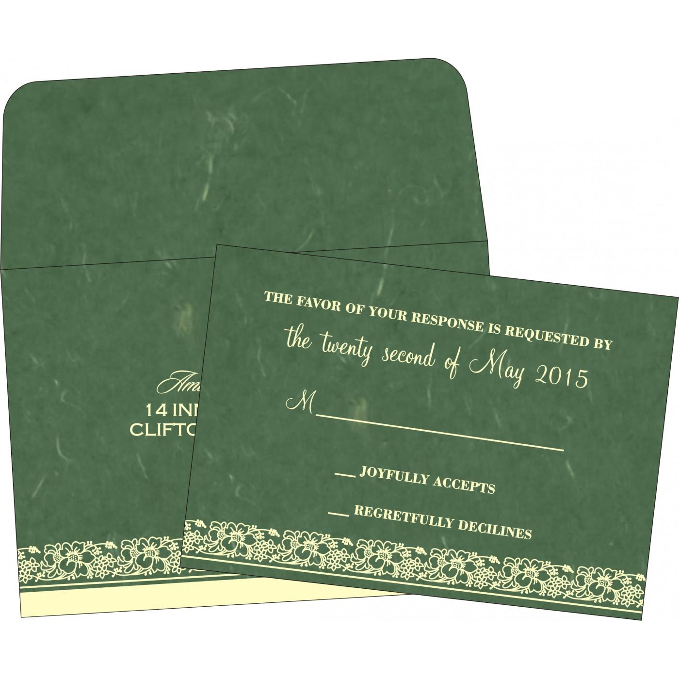 RSVP Cards : RSVP-8207L - 123WeddingCards