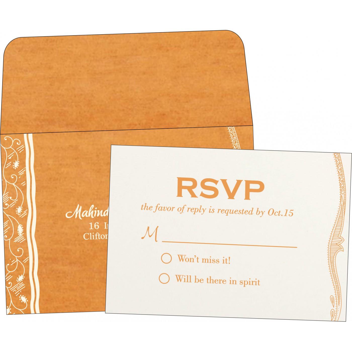 RSVP Cards : RSVP-8210L - 123WeddingCards