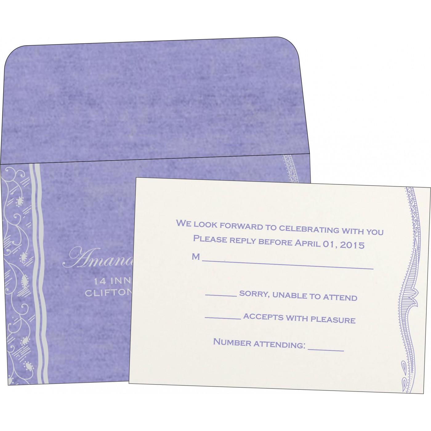 RSVP Cards : RSVP-8210N - 123WeddingCards