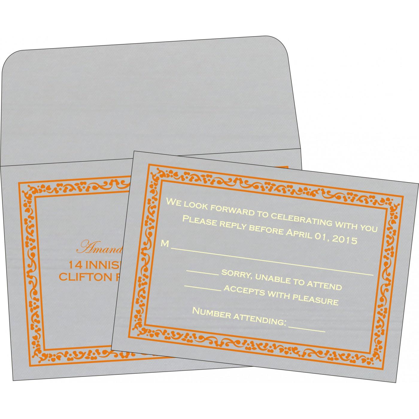 RSVP Cards : RSVP-8214M - 123WeddingCards