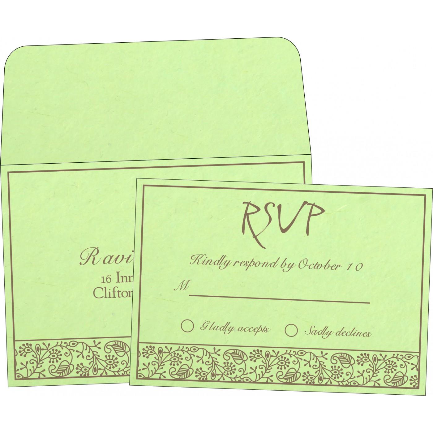 RSVP Cards : RSVP-8215D - 123WeddingCards