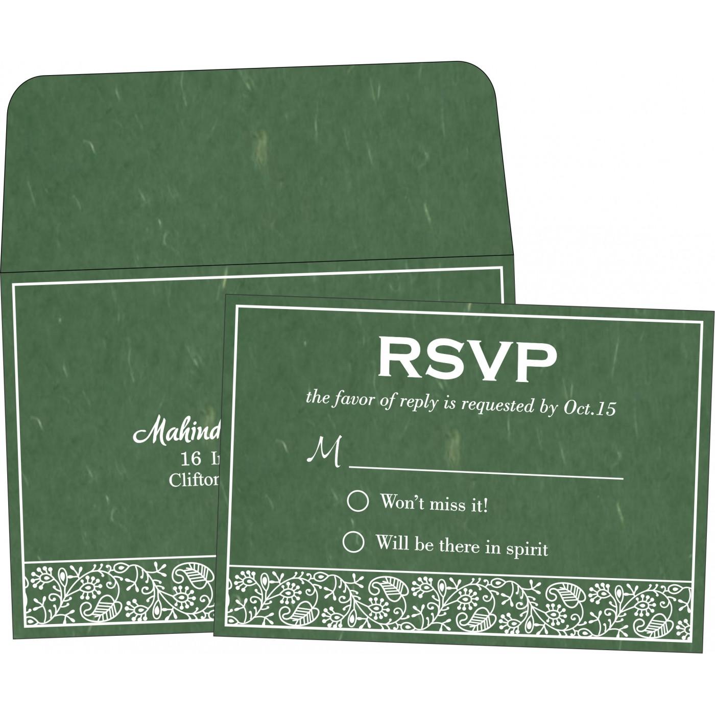 RSVP Cards : RSVP-8215E - 123WeddingCards
