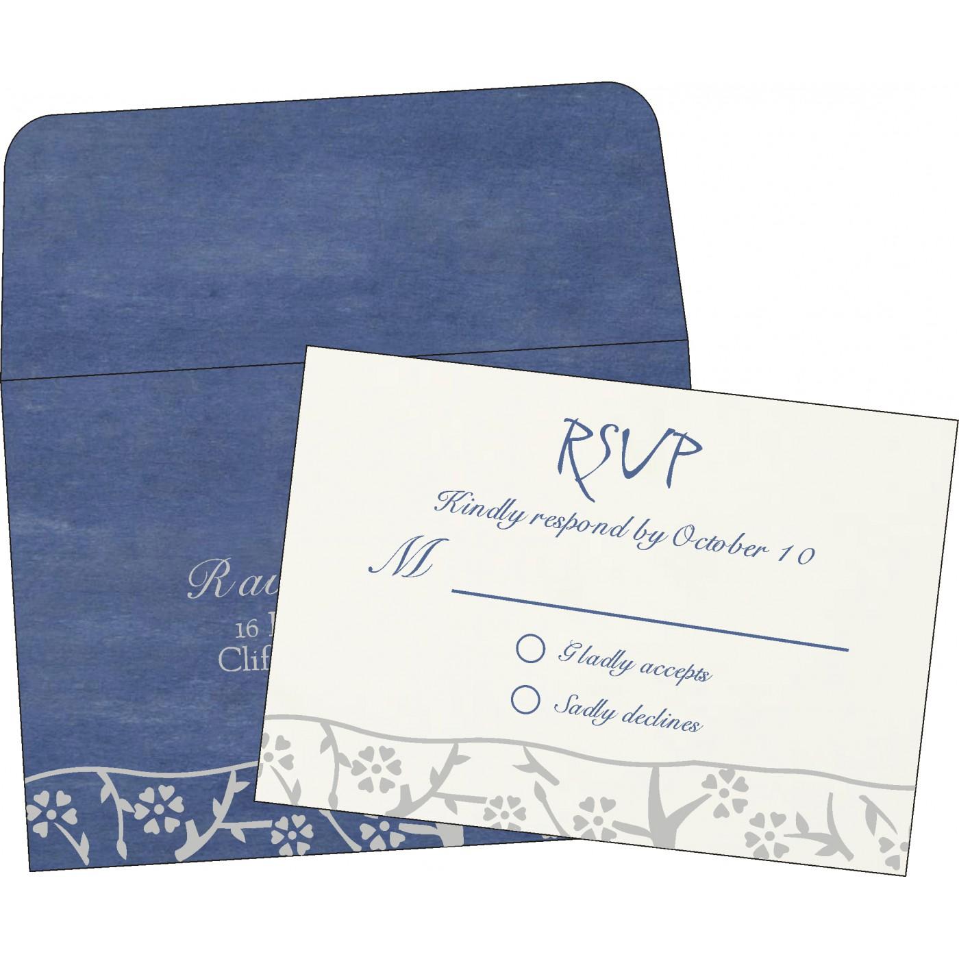 RSVP Cards : RSVP-8216D - 123WeddingCards