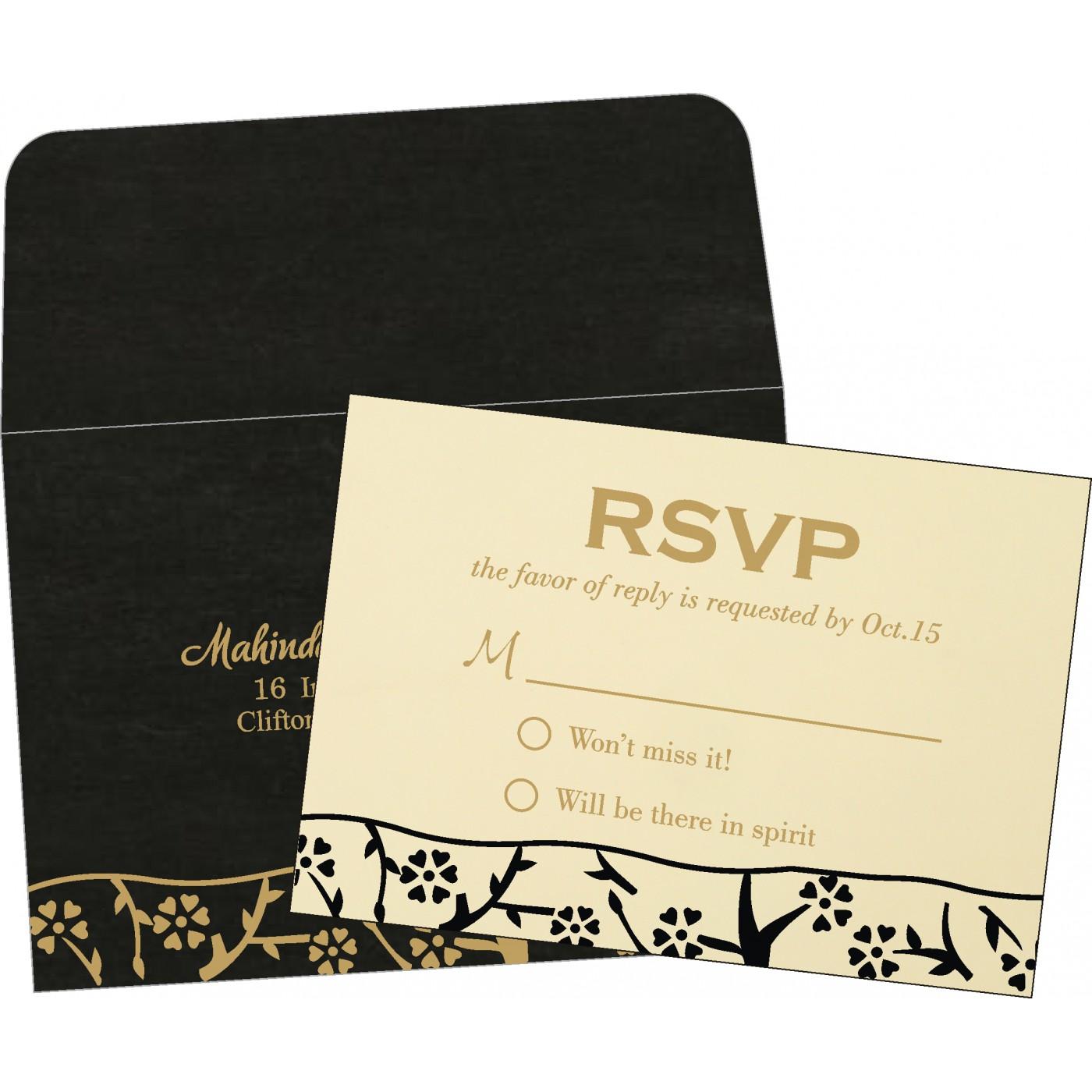 RSVP Cards : RSVP-8216K - 123WeddingCards