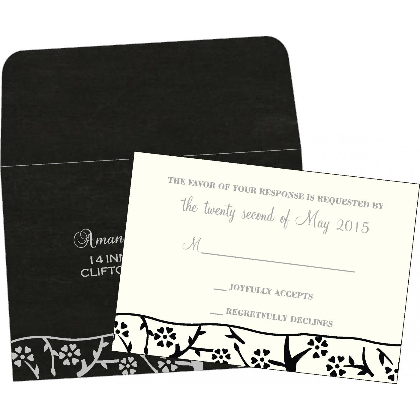 RSVP Cards : RSVP-8216N - 123WeddingCards
