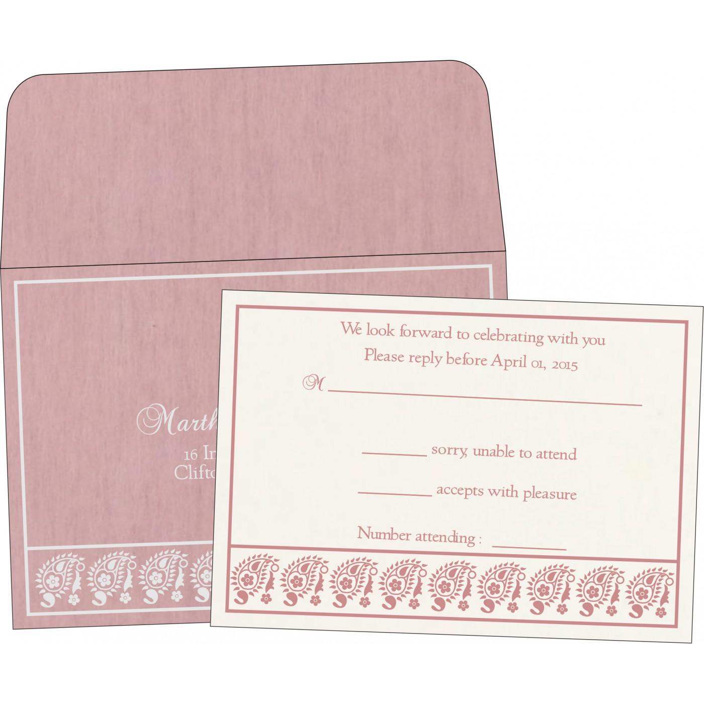 RSVP Cards : RSVP-8218J - 123WeddingCards