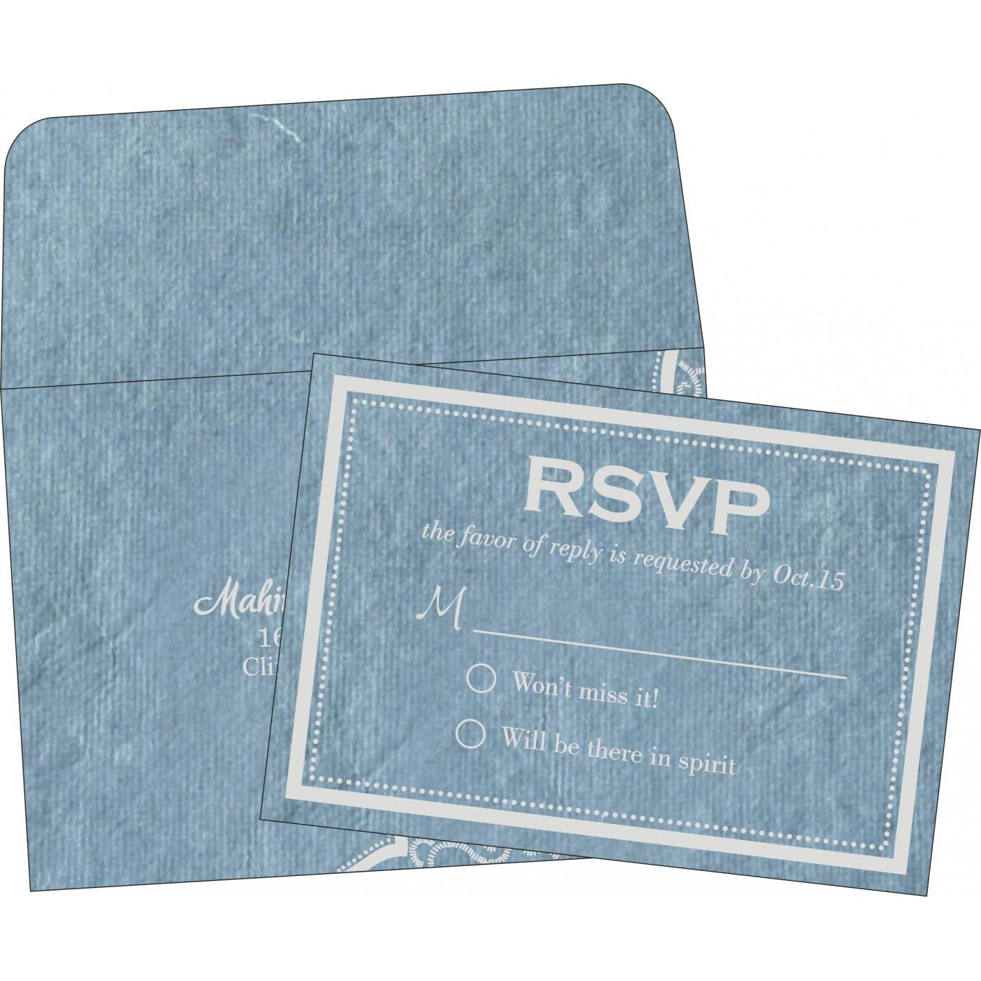 RSVP Cards : RSVP-8219E - 123WeddingCards