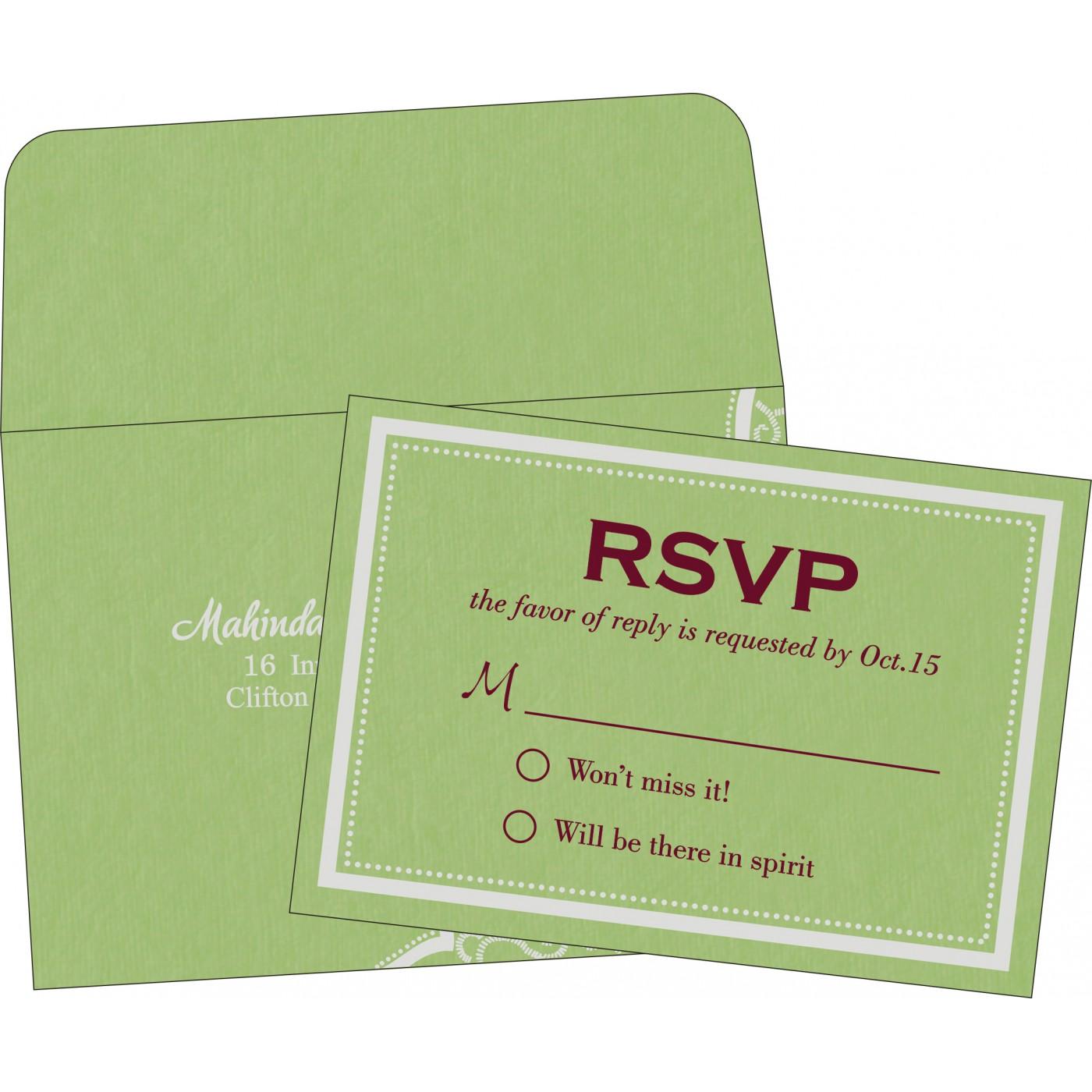 RSVP Cards : RSVP-8219J - 123WeddingCards