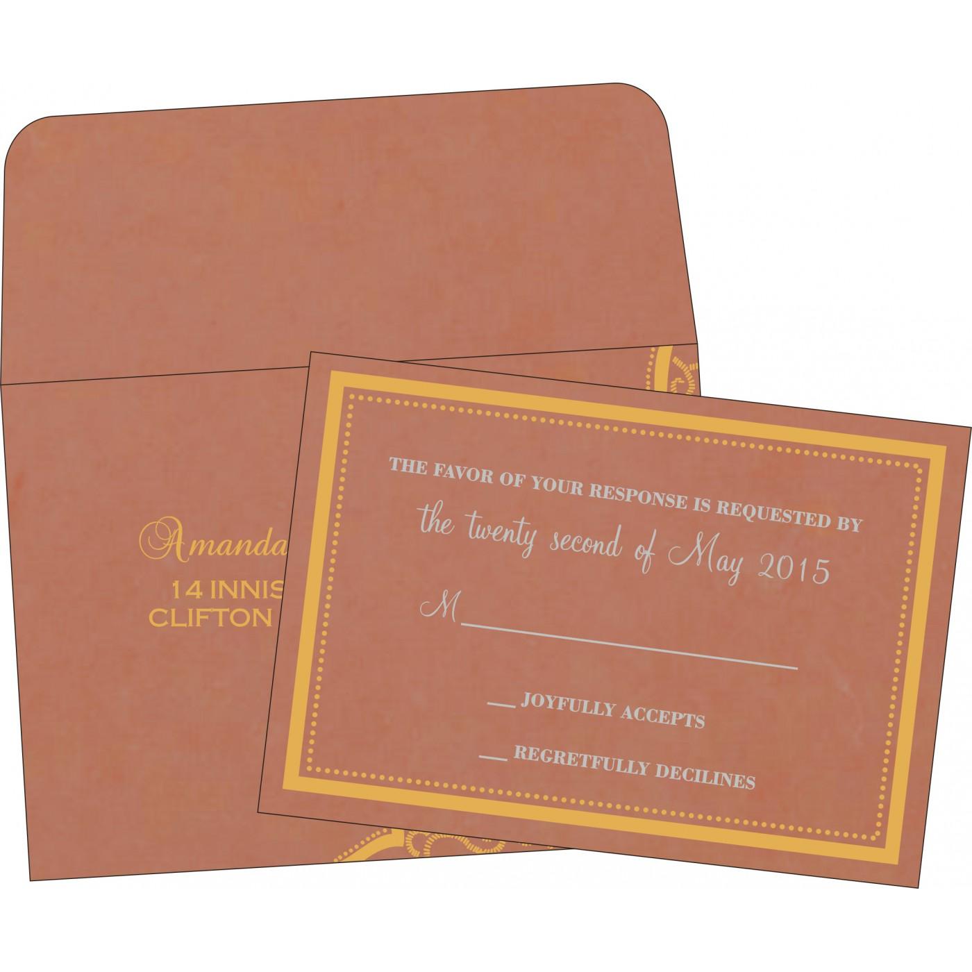 RSVP Cards : RSVP-8219M - 123WeddingCards