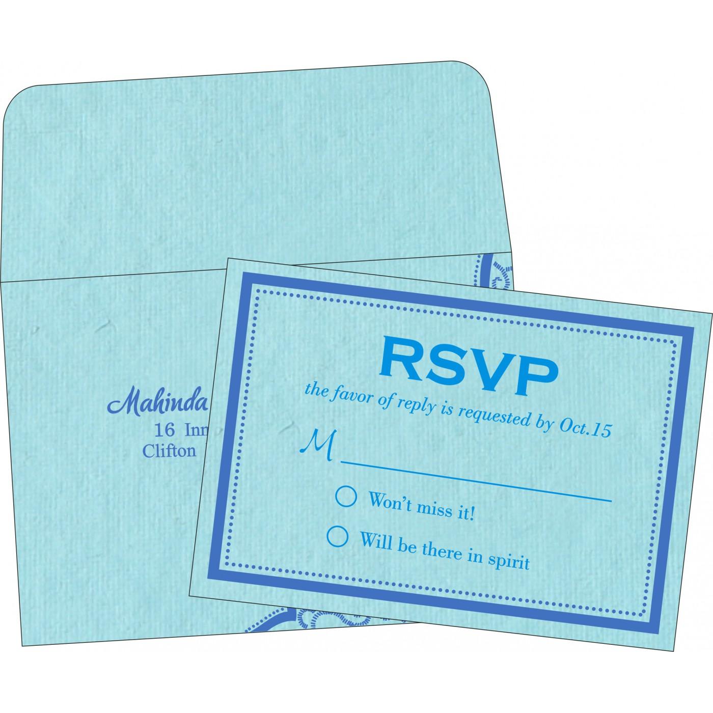 RSVP Cards : RSVP-8219N - 123WeddingCards