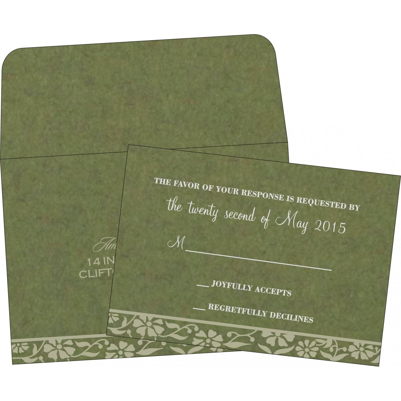 RSVP Cards : RSVP-8222D - 123WeddingCards