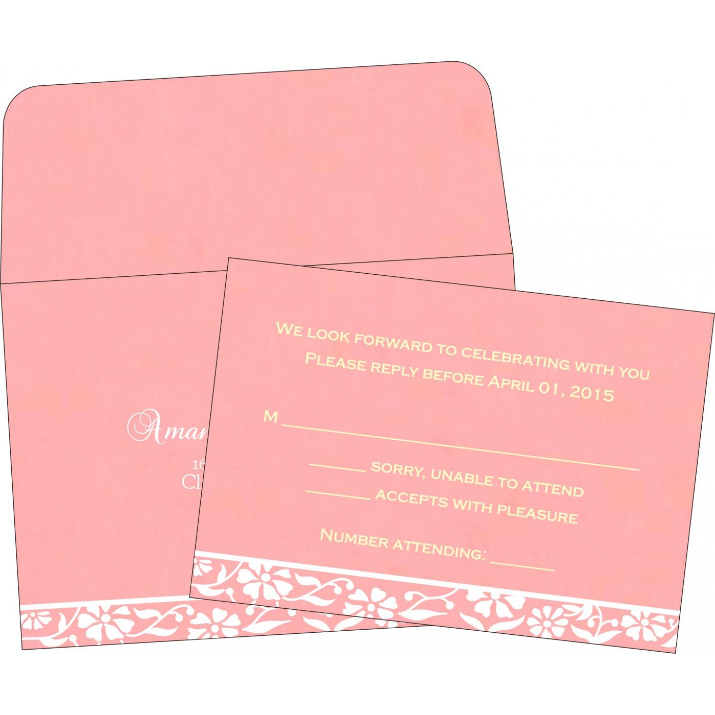 RSVP Cards : RSVP-8222E - 123WeddingCards