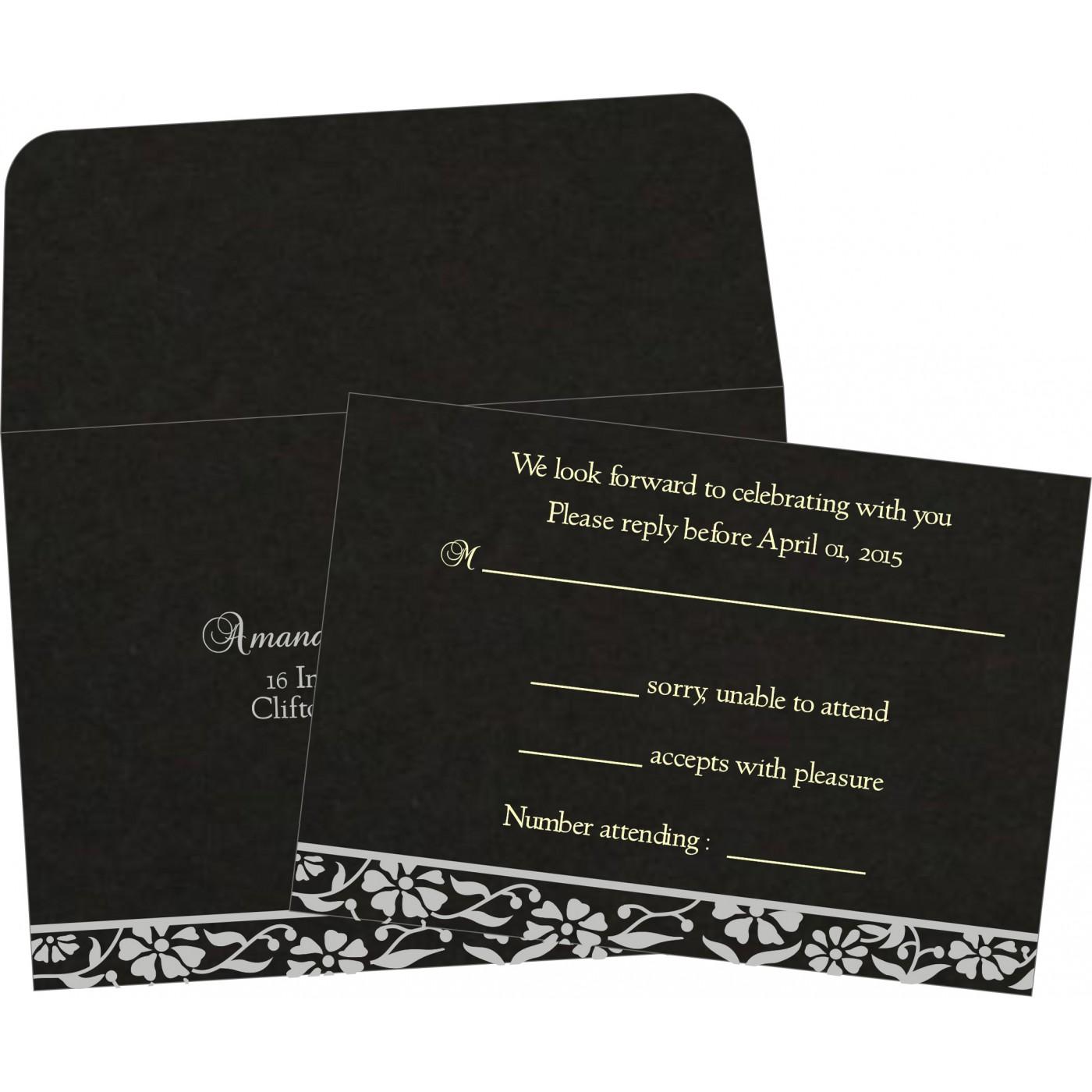RSVP Cards : RSVP-8222J - 123WeddingCards