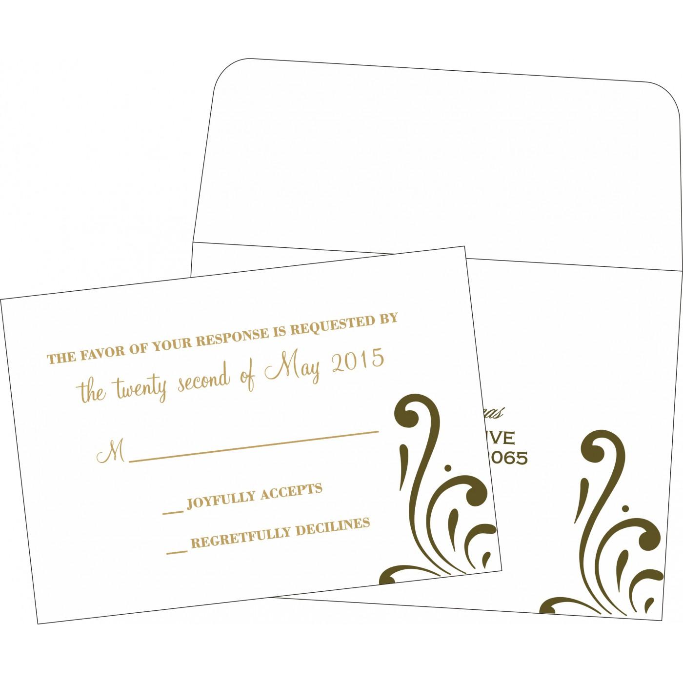 RSVP Cards : RSVP-8223I - 123WeddingCards