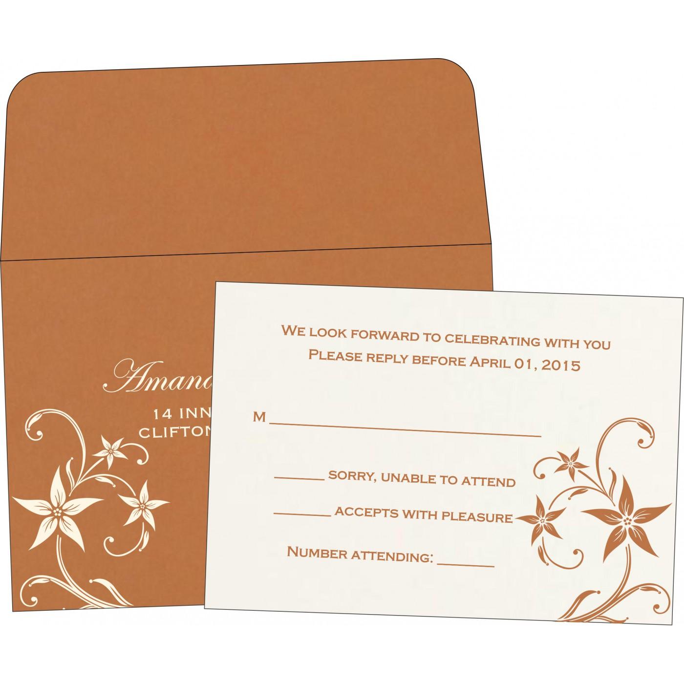 RSVP Cards : RSVP-8225J - 123WeddingCards