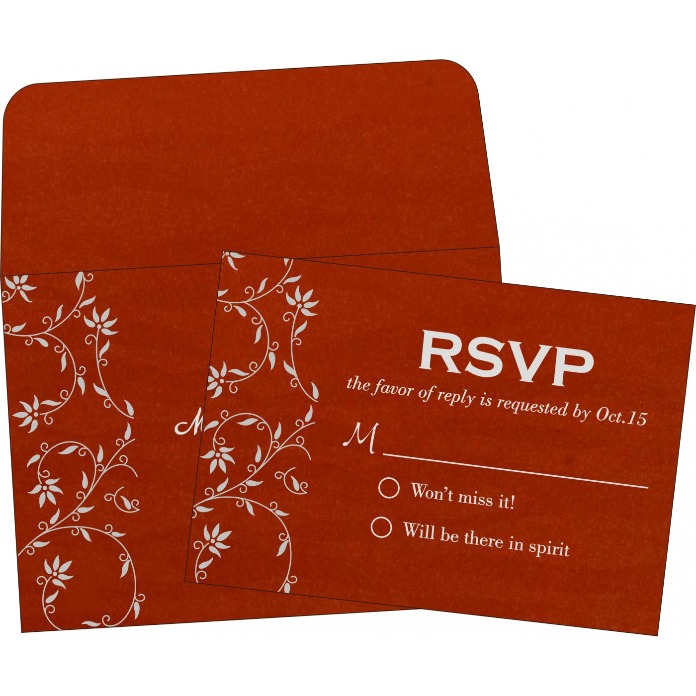 RSVP Cards : RSVP-8226I - 123WeddingCards
