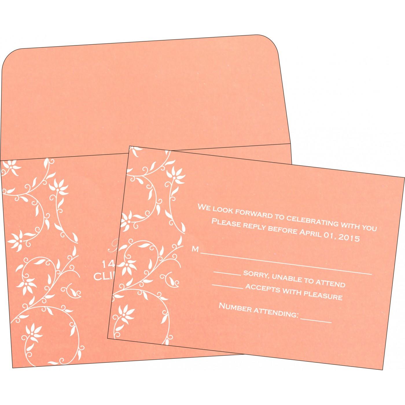 RSVP Cards : RSVP-8226K - 123WeddingCards