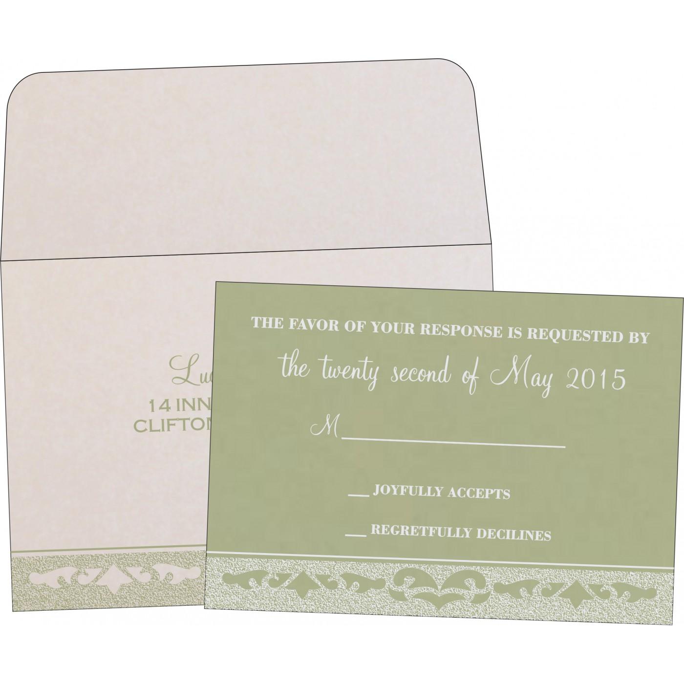 RSVP Cards : RSVP-8227J - 123WeddingCards