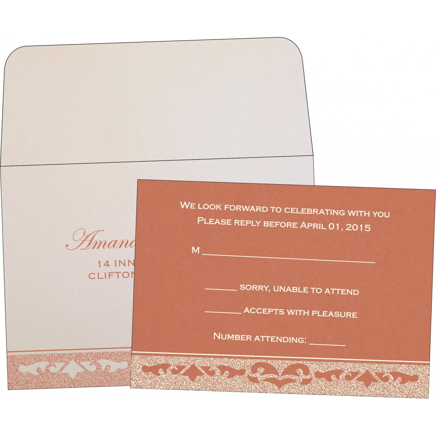 RSVP Cards : RSVP-8227L - 123WeddingCards