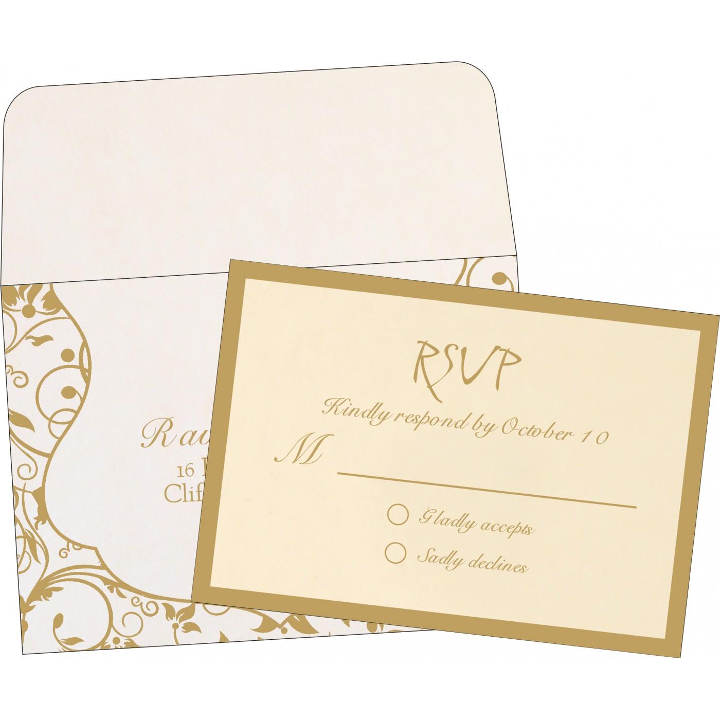 RSVP Cards : RSVP-8229E - 123WeddingCards
