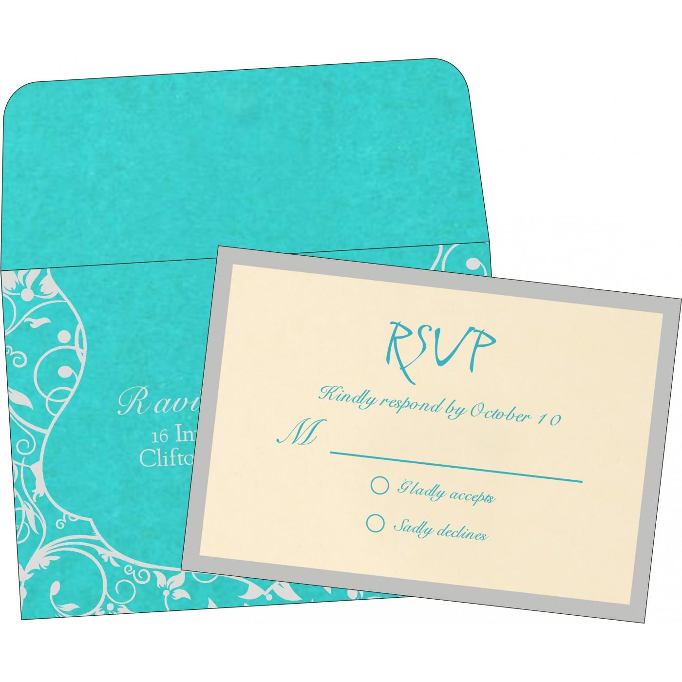 RSVP Cards : RSVP-8229M - 123WeddingCards