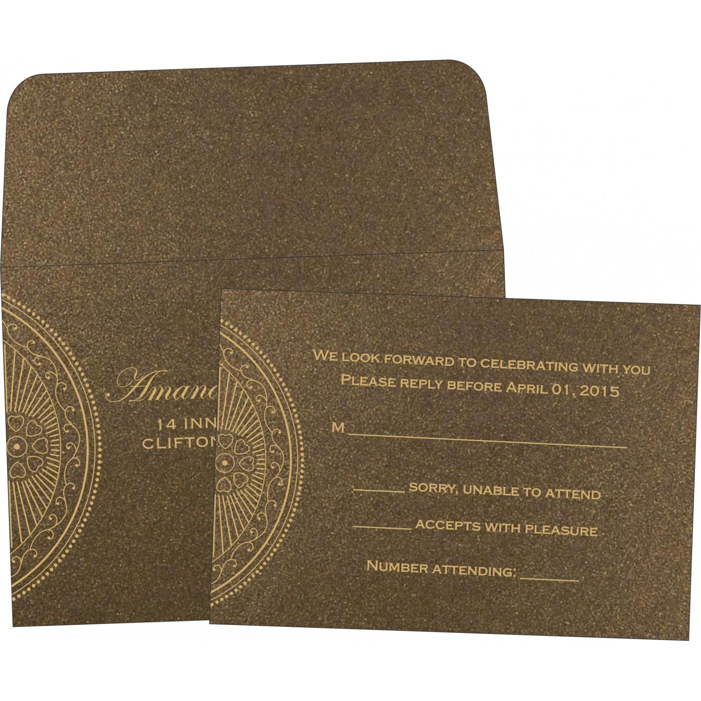RSVP Cards : RSVP-8230M - 123WeddingCards