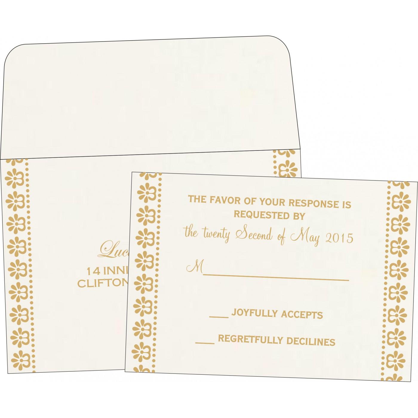 RSVP Cards : RSVP-8231J - 123WeddingCards