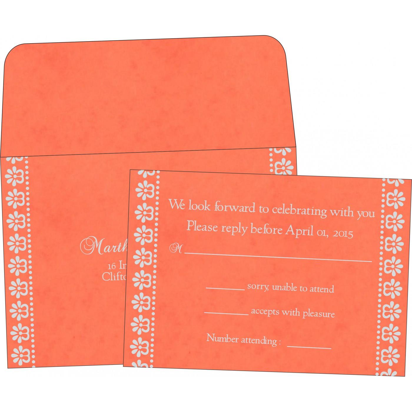 RSVP Cards : RSVP-8231M - 123WeddingCards