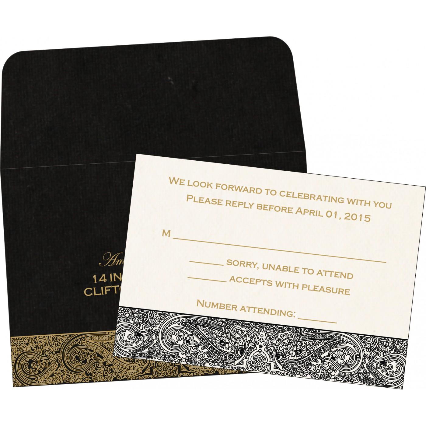 RSVP Cards : RSVP-8234A - 123WeddingCards