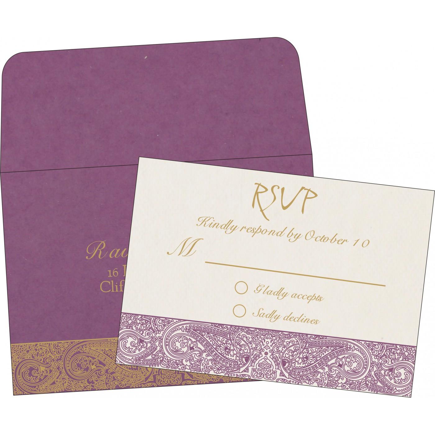 RSVP Cards : RSVP-8234D - 123WeddingCards