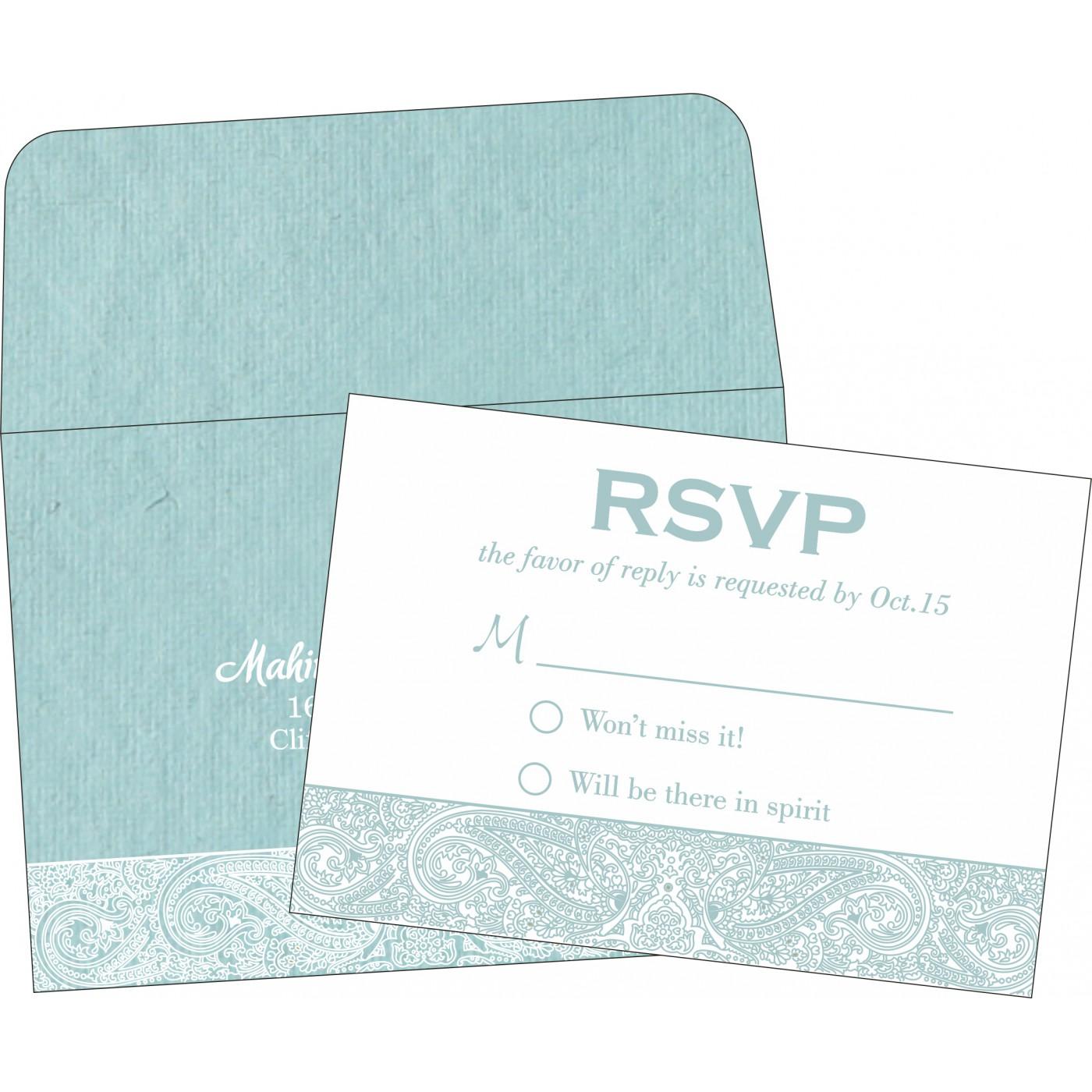 RSVP Cards : RSVP-8234E - 123WeddingCards