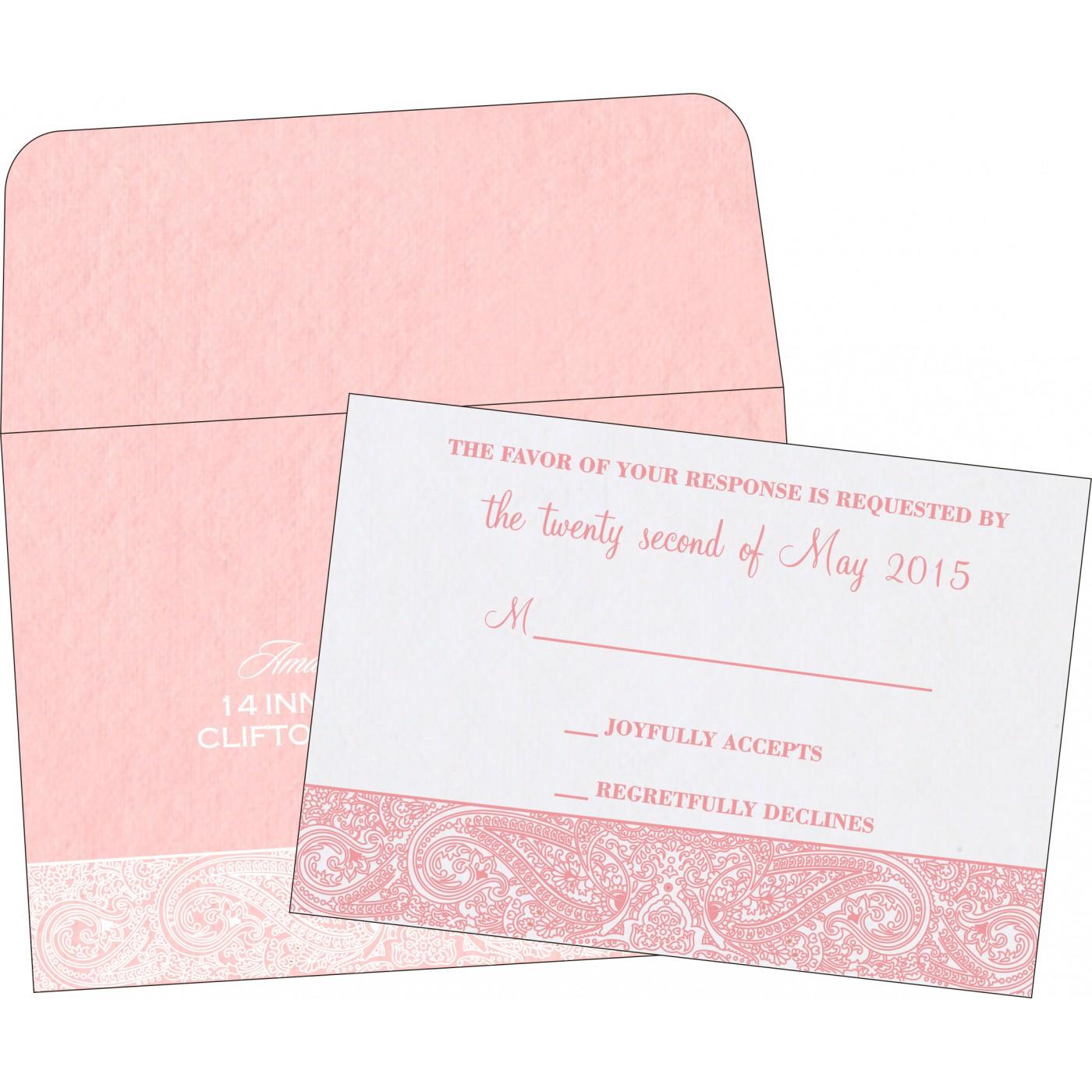 RSVP Cards : RSVP-8234G - 123WeddingCards
