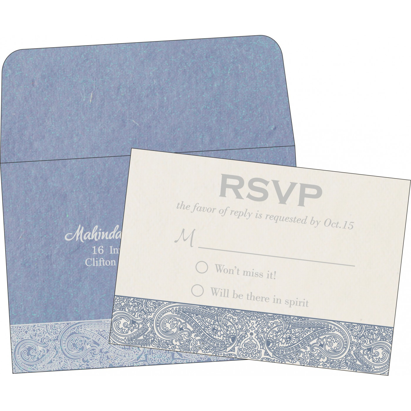 RSVP Cards : RSVP-8234J - 123WeddingCards