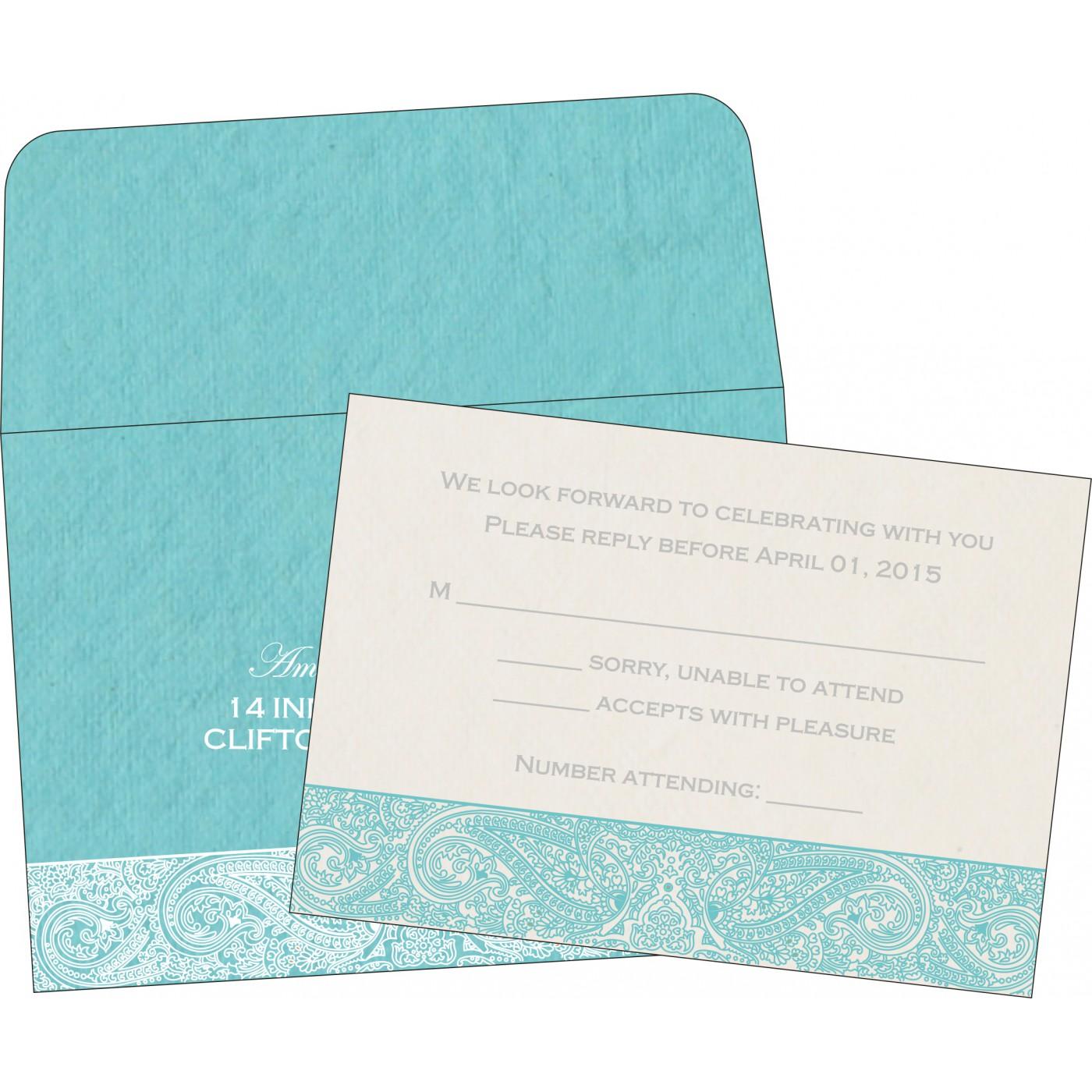 RSVP Cards : RSVP-8234K - 123WeddingCards