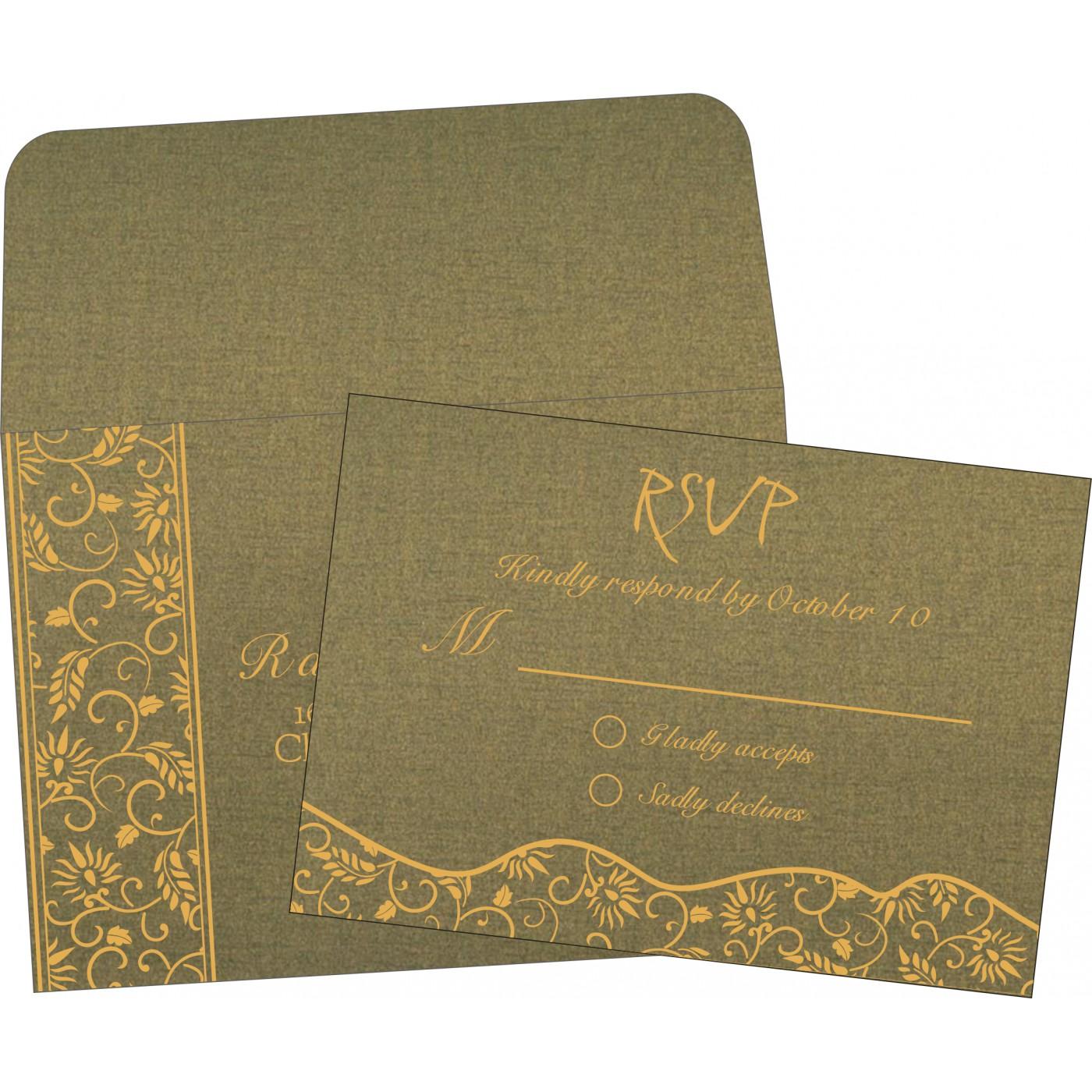 RSVP Cards : RSVP-8236H - 123WeddingCards