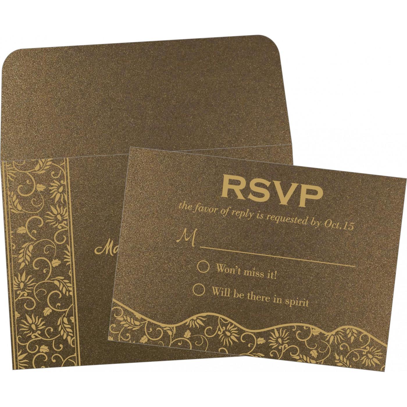 RSVP Cards : RSVP-8236I - 123WeddingCards