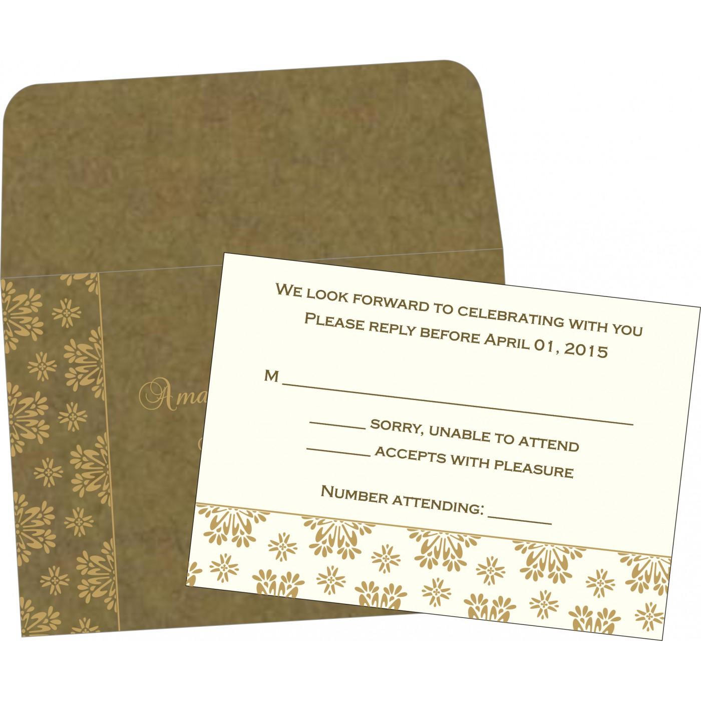 RSVP Cards : RSVP-8237E - 123WeddingCards
