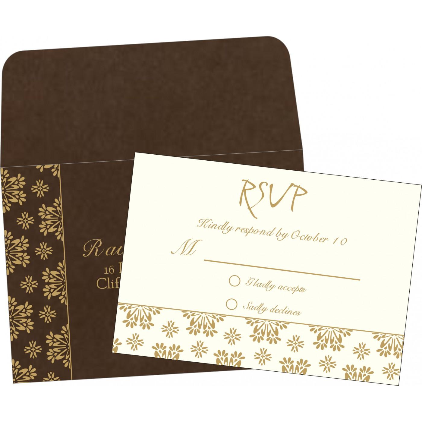 RSVP Cards : RSVP-8237L - 123WeddingCards
