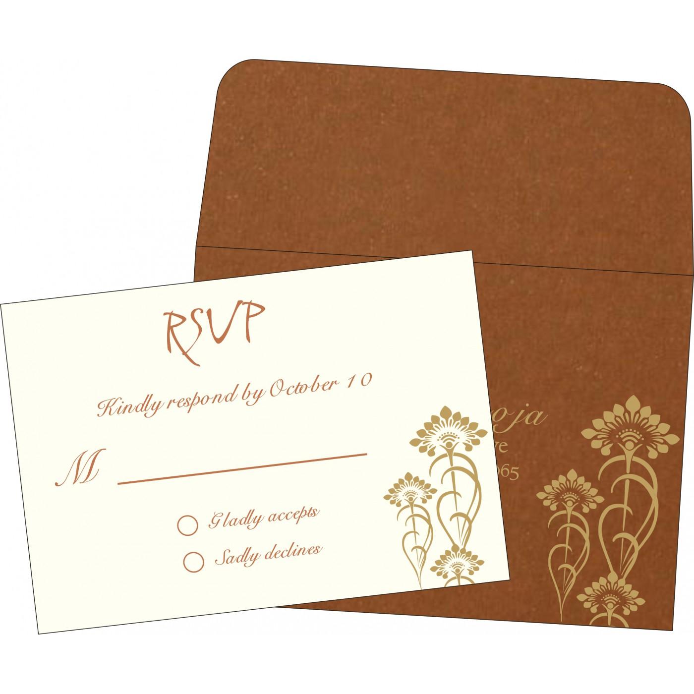 RSVP Cards : RSVP-8239H - 123WeddingCards