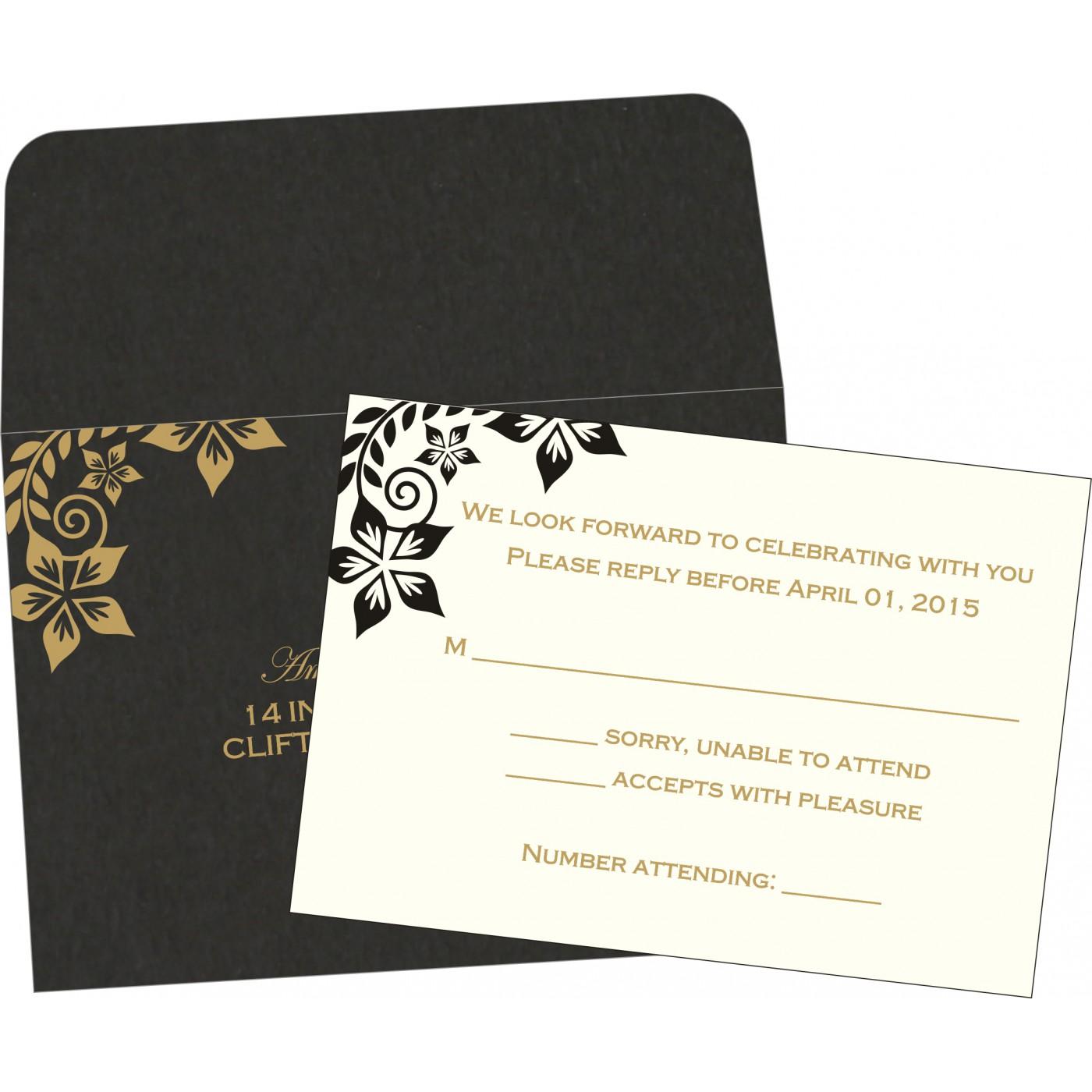 RSVP Cards : RSVP-8240A - 123WeddingCards