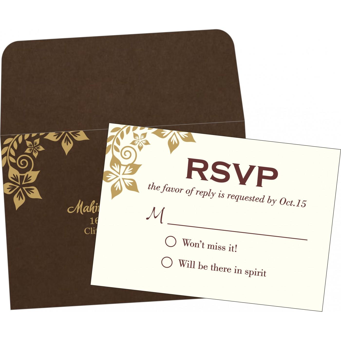 RSVP Cards : RSVP-8240E - 123WeddingCards