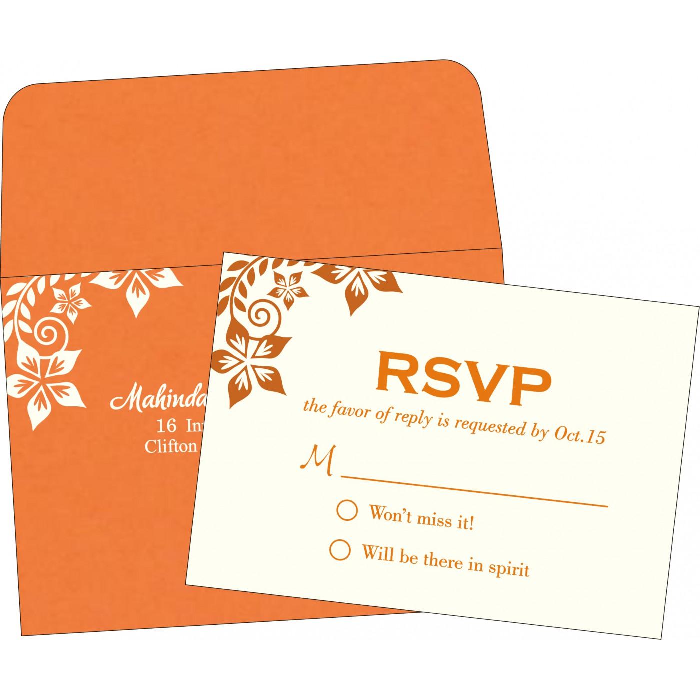 RSVP Cards : RSVP-8240K - 123WeddingCards