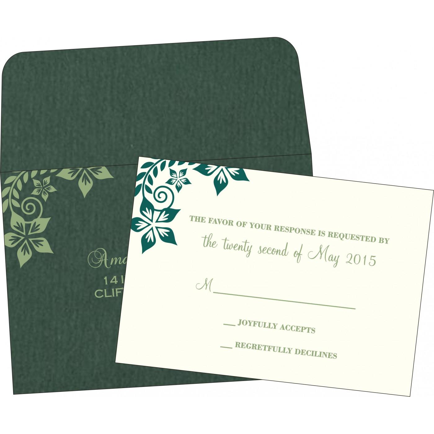 RSVP Cards : RSVP-8240N - 123WeddingCards
