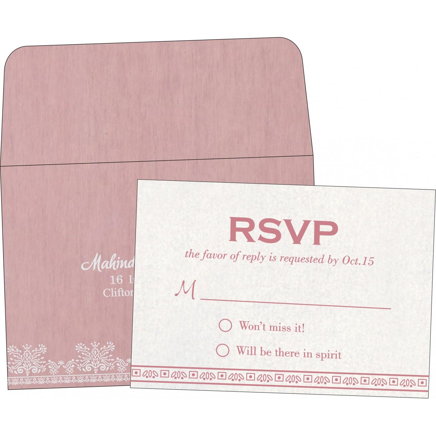 RSVP Cards : RSVP-8241E - 123WeddingCards