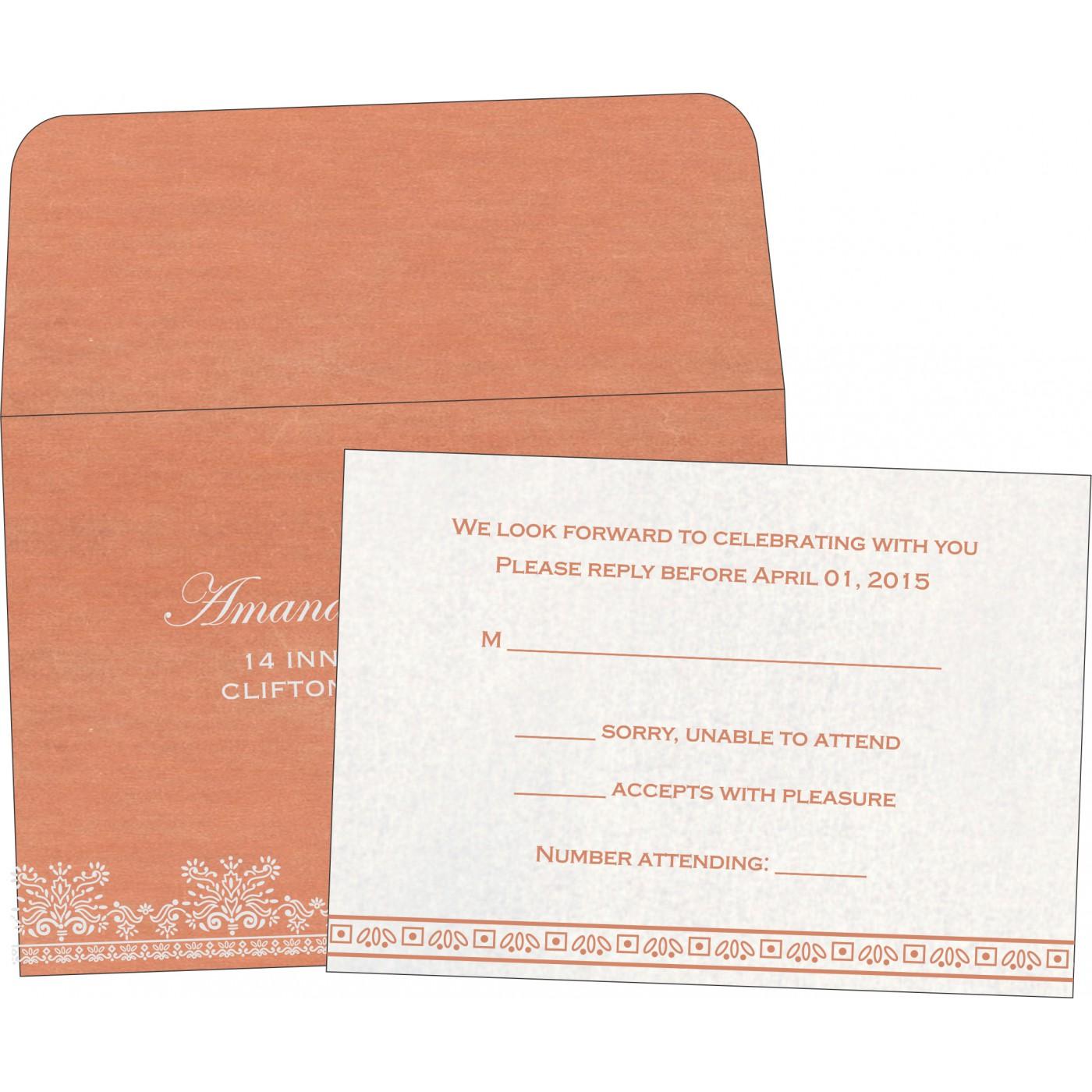 RSVP Cards : RSVP-8241G - 123WeddingCards