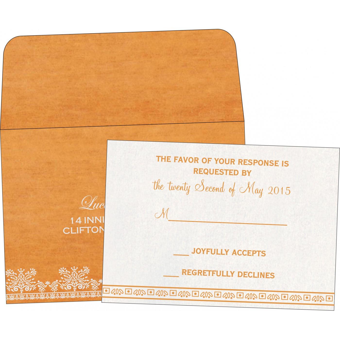 RSVP Cards : RSVP-8241H - 123WeddingCards