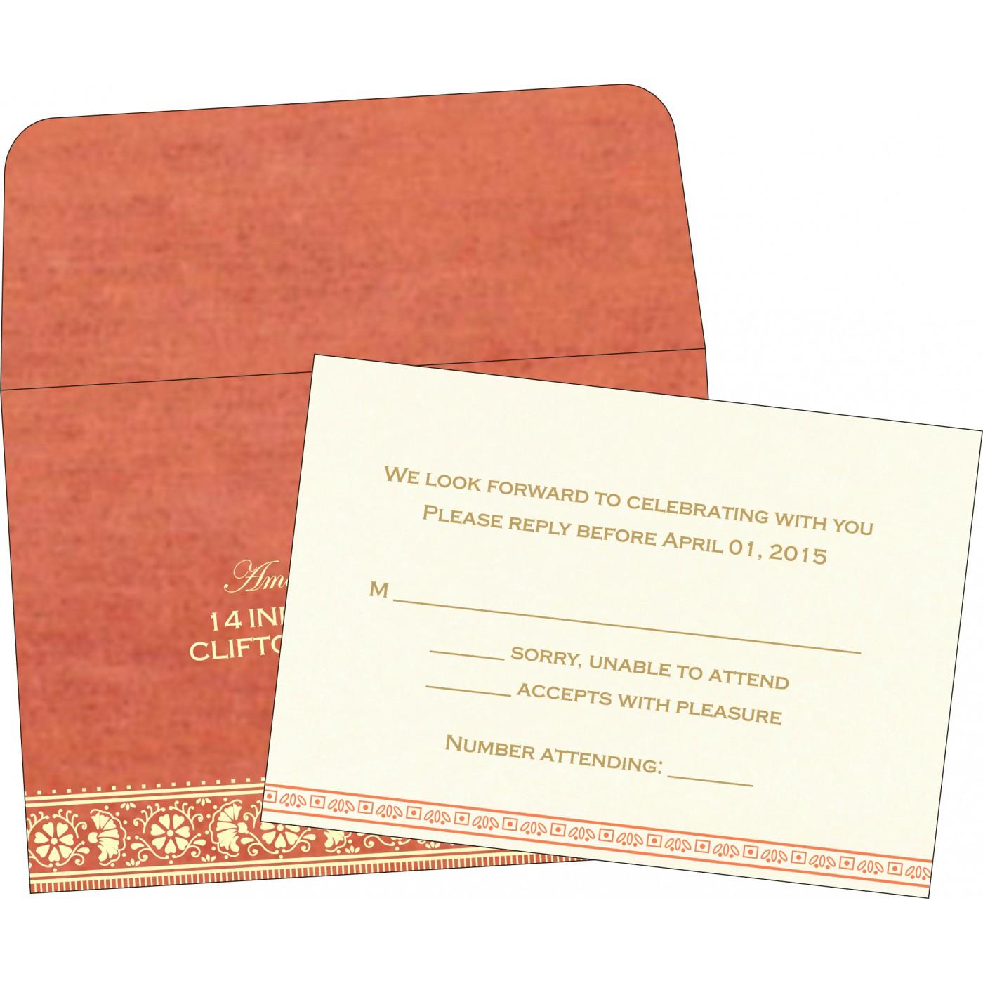 RSVP Cards : RSVP-8242I - 123WeddingCards