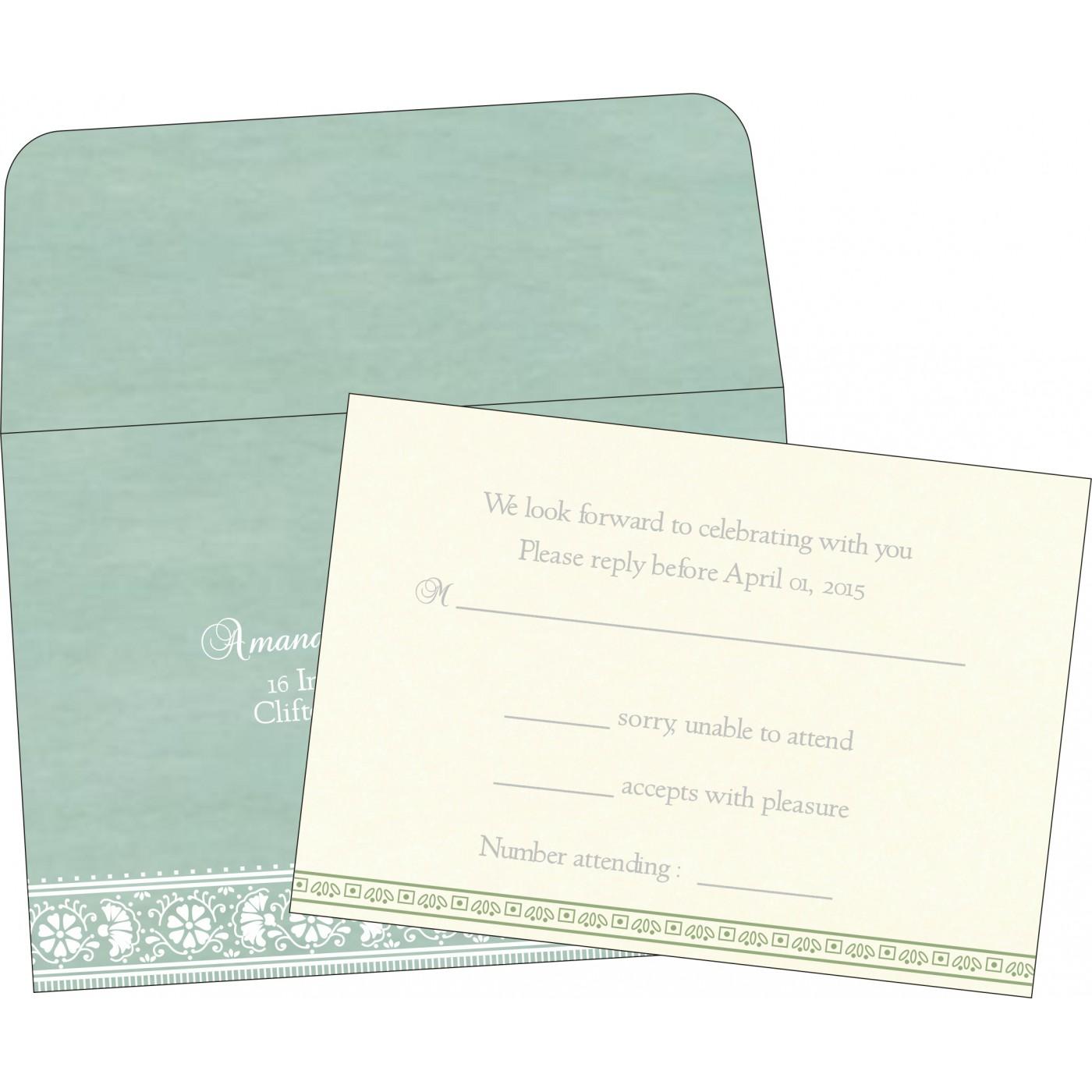 RSVP Cards : RSVP-8242K - 123WeddingCards